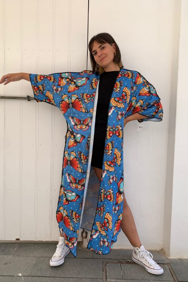 Kimono mariposas