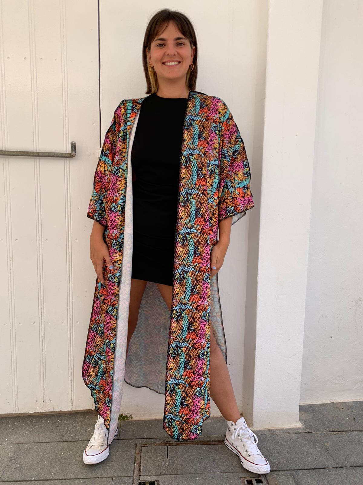 Kimono serpiente